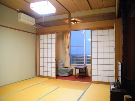 全室オーシャンビュー♪安乗の海一望の和室(8〜10畳)