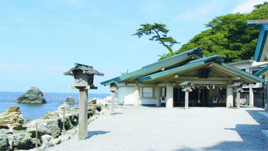 【二見興玉神社】三重県で有名な恋愛神社、知る人ぞ知る縁結びスポットです。当館より徒歩12分♪