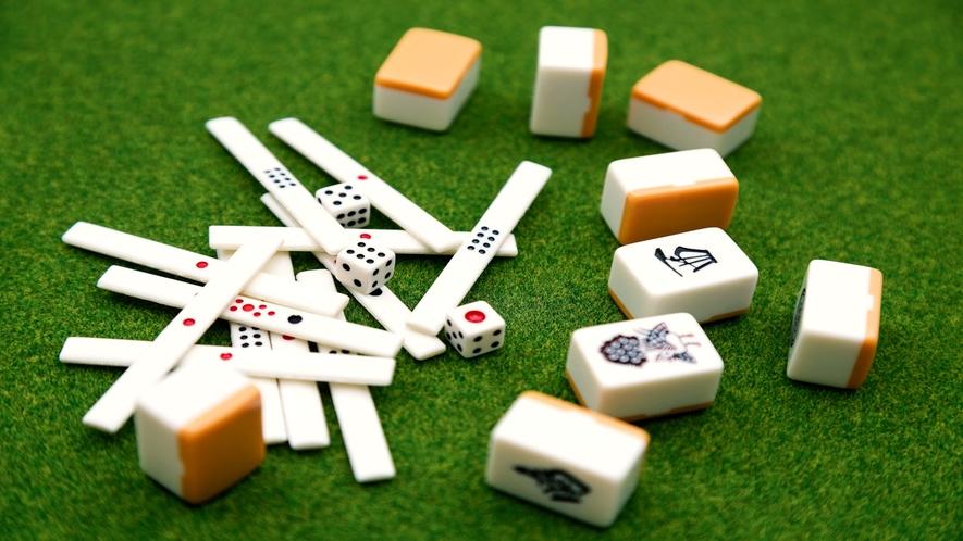 全自動麻雀卓でゆっくり楽しんで下さい。