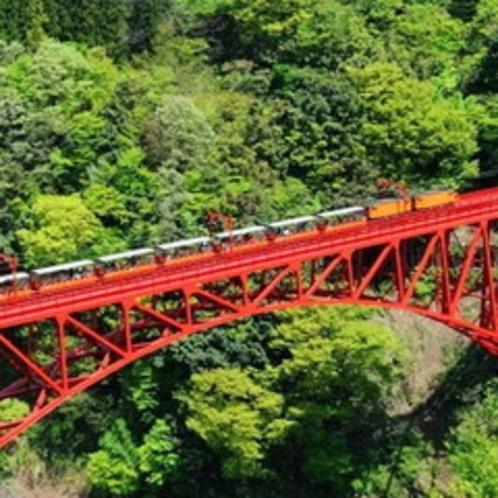 春の黒部峡谷鉄道