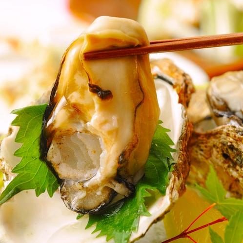 岩牡蠣のお刺身
