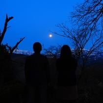 【平山城址からの景色】