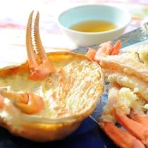 【蟹の天ぷら】