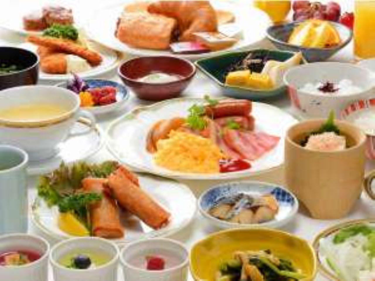 ☆和洋バイキングの朝食(イメージ)