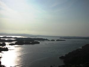 大高森から松島方向