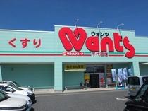 薬局«Wants-ウォンツ-»【車で約5分】