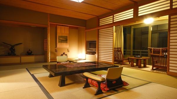 〈喫煙可〉露天風呂付特別室
