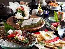 期間限定!姫路名物の穴子をメインにした会席料理をご用意。