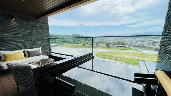 熊本県・人吉温泉【新客室プラン】約100平米の温泉露天風呂付スイートルーム【1泊2食付き】