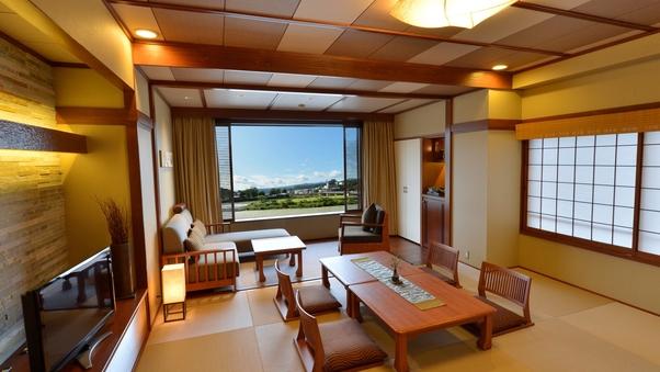 【2〜4名対応】和モダンビュールーム〜球磨川・人吉城址を望む