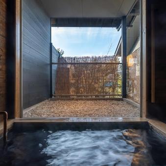 【蕩-とう-】葡萄酒畑と列車の洋室 洋風呂と小庭