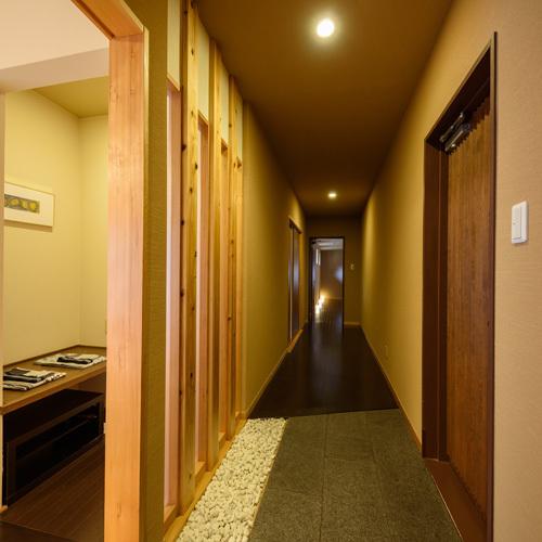 【禁煙】和室8畳2間/廊下