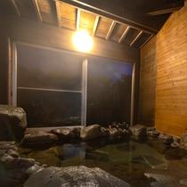 和室の岩風呂