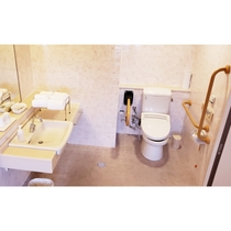 【バリアフリーツイン】トイレ・洗面所①