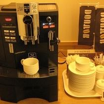 ロビーでドトールコーヒーをゆっくりと〜