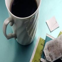 ウェルカムコーヒーでご談笑も。