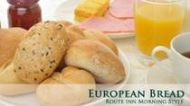 ヨーロピアンブレッドのパンを使用しています☆