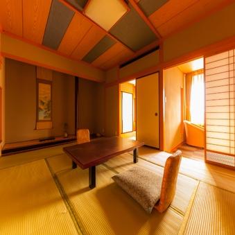 ◎本陣〜ゆとりの空間と落ち着きのある和室(禁煙)