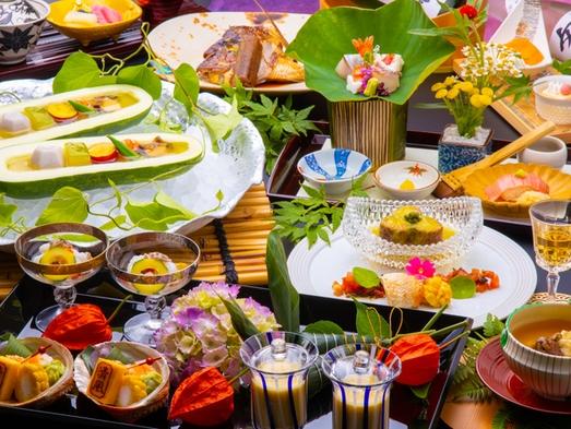 【秋冬旅セール】十三の風会席プラン!厳選された四季折々の地元食材を愉しむ≪個室食事処≫