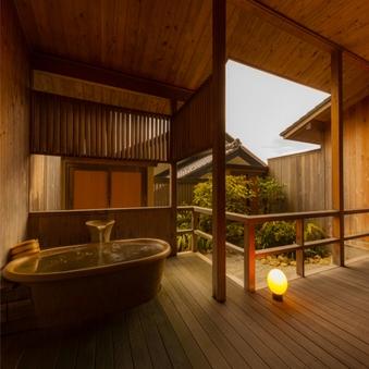 ◎十三の風〜天然温泉の露天風呂付き和室(禁煙)
