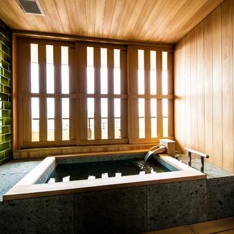 【蘆庵〜RO-AN〜】当館最高峰・半露天風呂付和洋室(禁煙)
