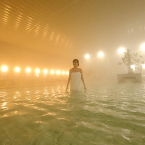 内湯の大浴場華殿(女性)