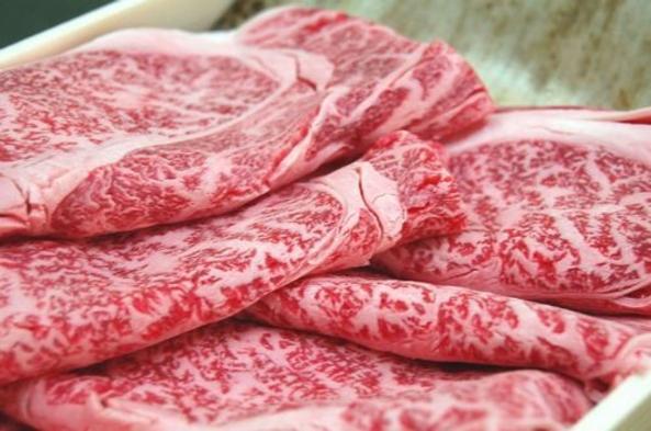 脂身がのってとってもジューシィ☆岡山の県北が誇るブランド・千屋牛しゃぶしゃぶ会席プラン