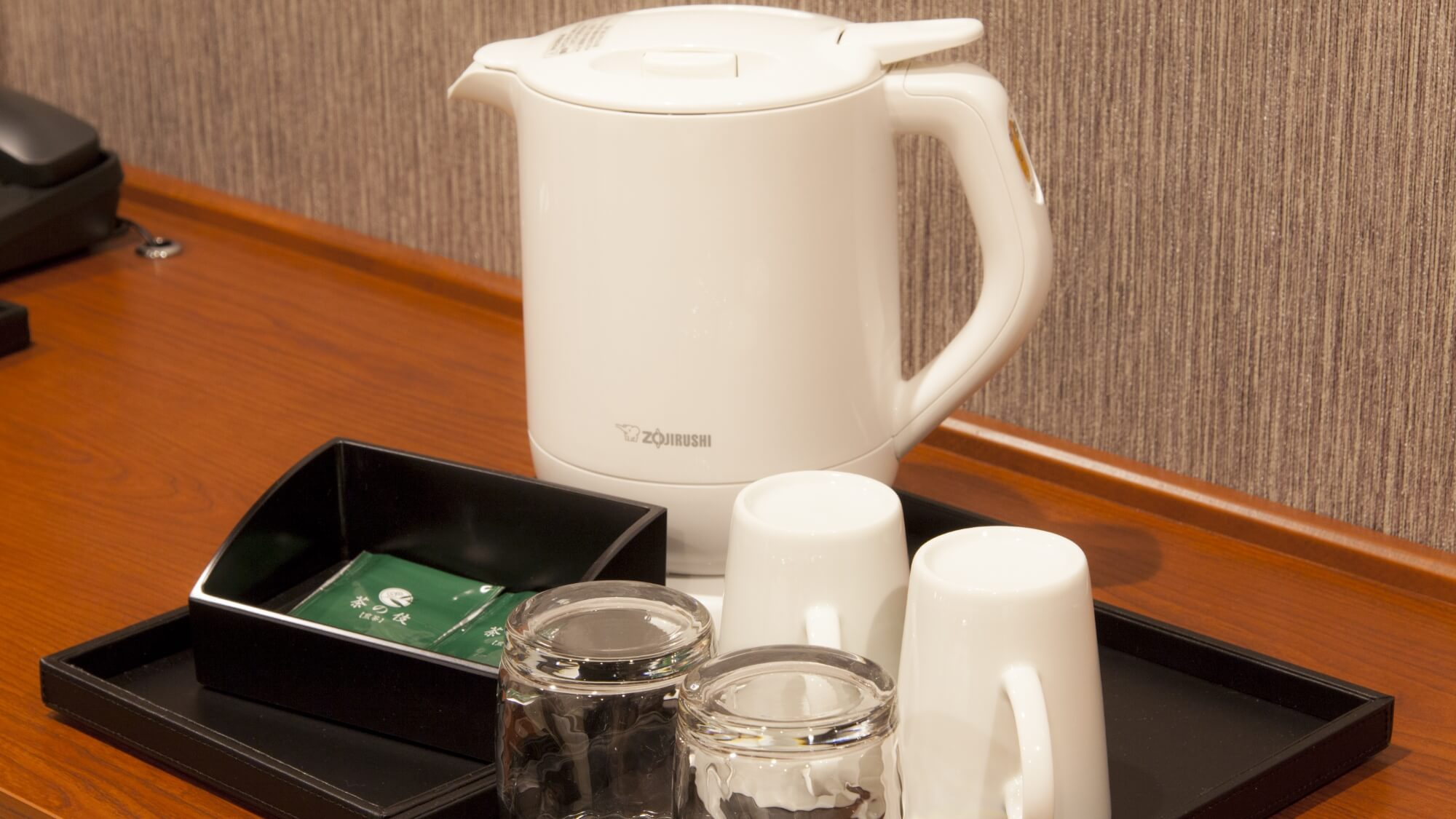 【MAIN TOWER】電気ケトル・マグカップ(有田焼き)・グラス