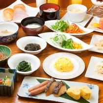 朝食(和・洋食メニュー)