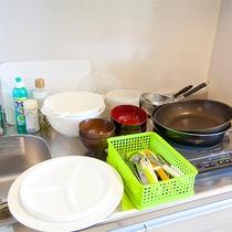 【貸出備品】調理具一式