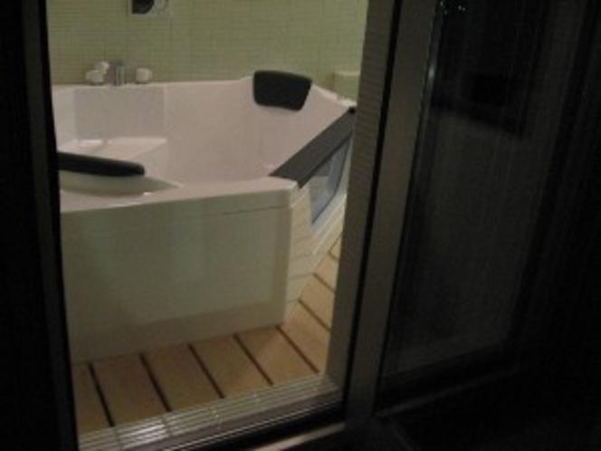 特別室 上々福(緑)半露天風呂