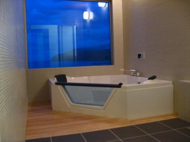 特別室 上々福緑 半露天風呂