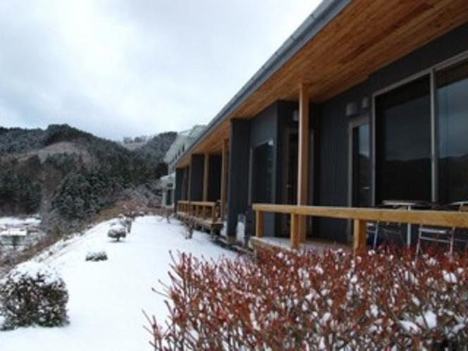 廣洋館の雪景色1
