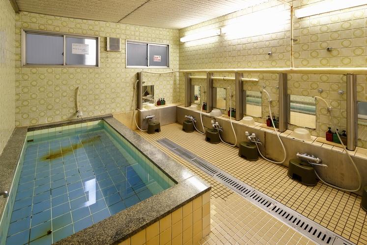 観光、ビジネスで疲れた体も大浴場でリフレッシュ!!