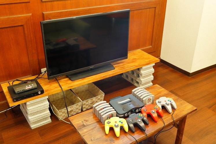TV、TVゲーム、DVDなど