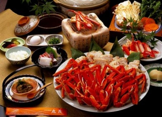 冬:かに味噌仕立て鍋1