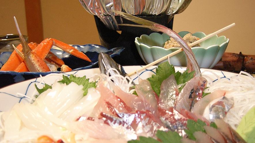 *夕食一例/新鮮な魚介類をたっぷりとご賞味ください!
