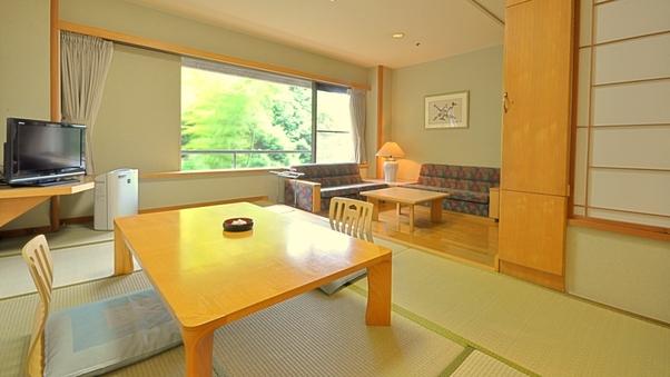 新館和室又は和洋室 43平米(禁煙/8階以上)