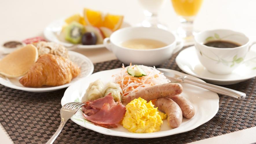 食事_朝食バイキング1