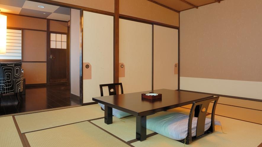 泉遊A_和室とソファー_R301・R302