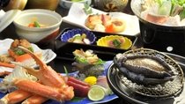 食事_和食会席_しらなみコースご夕食1