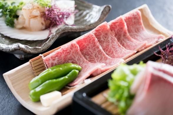 鮟鱇鍋と常陸牛の石焼プラン【現金特価】