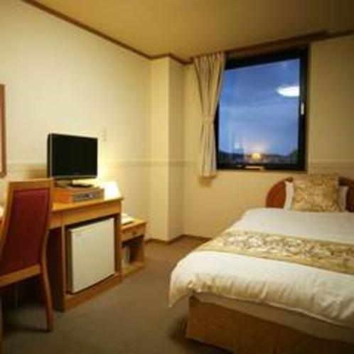 【新館シングル♪】ウォシュレット完備。お部屋も広めです。