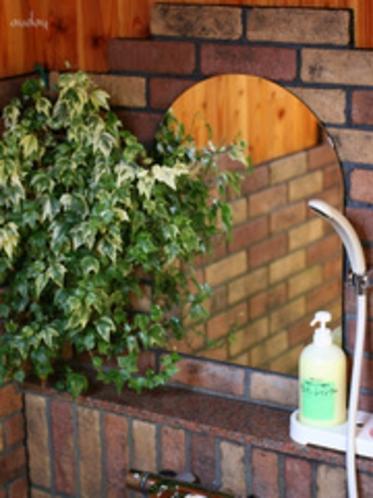 「ホタルの庭園」風呂 シャワー