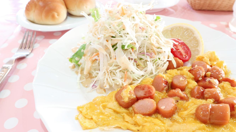 *【お料理】朝食一例〜食べやすいボリュームでご準備します☆