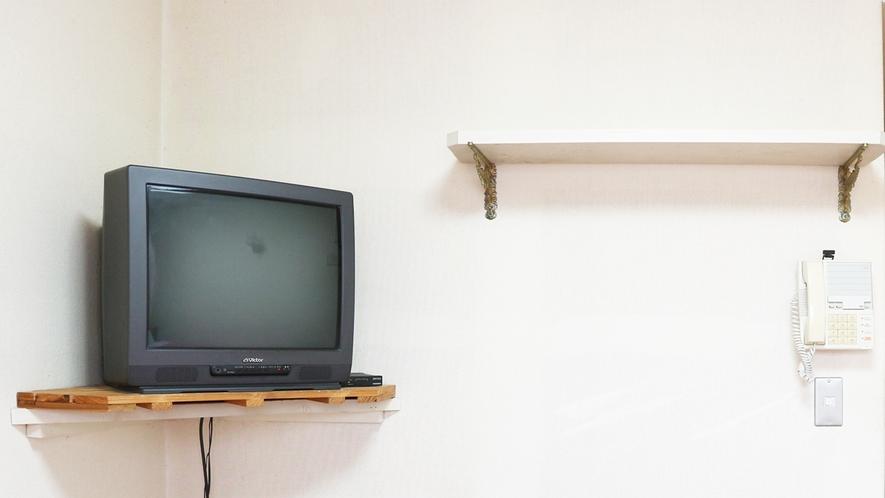 *【お部屋】全室TVがあり、wifi無料です!