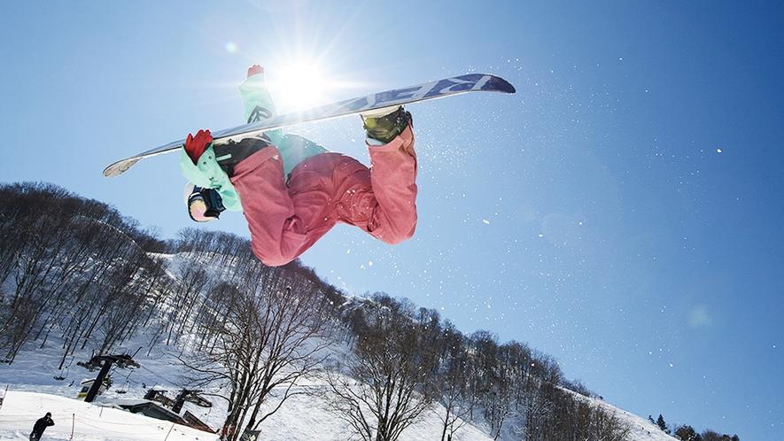 **【周辺観光_Hakuba47】スキー・スノーボーダーに愛されている日本最大規模のスノーパークです