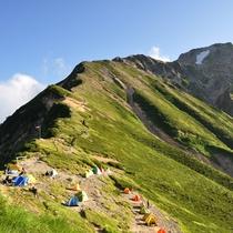 *【周辺観光_五竜岳】難易度の高いコースもありますが、山全体では中級に属しています。