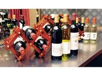 山梨県産ワインも取り扱っています