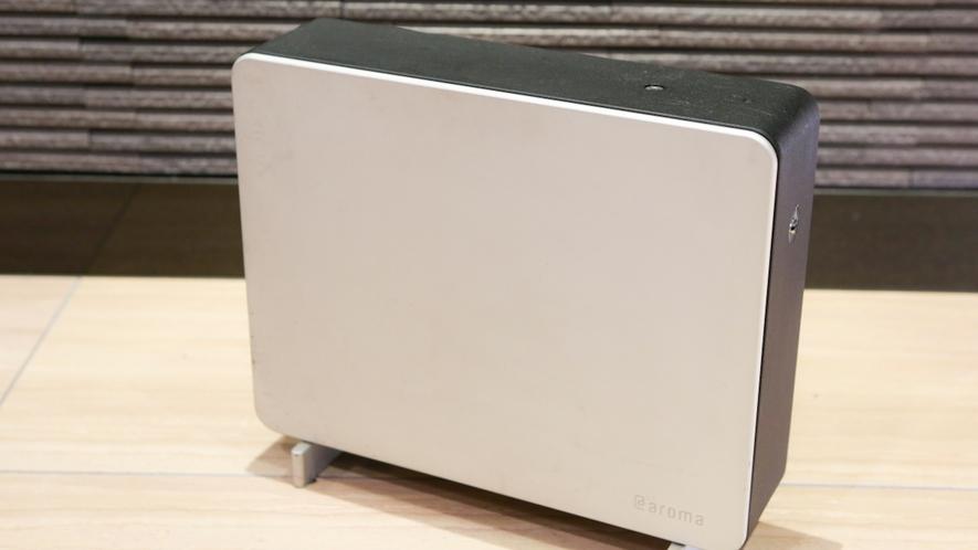 1Fロビー/フロントには、アロマディフューザーを設置しています。
